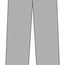 Pantalón de Cocina Unisex Rayas o Cuadros de MARCA 1088PK CUADROS