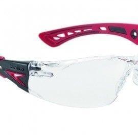 Gafas Incoloras de Patillas modelo Rush+ de Bollé ROJO
