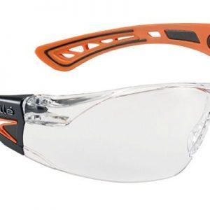 Gafas Incoloras de Patillas modelo Rush+ de Bollé NARANJA
