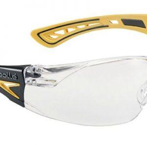 Gafas Incoloras de Patillas modelo Rush+ de Bollé AMARILLO