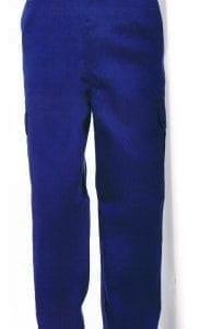 Pantalón Multibolsillos modelo WR100 de Worko AZUL