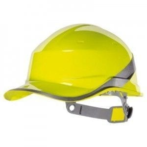 diam5 casco diamond tipo baseball deltaplus amarillo
