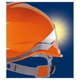 Casco de Obra ABS modelo BASEBALL DIAMOND V de DeltaPlus DIAM5 REFLEJO LUZ