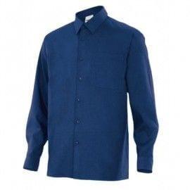 Camisa de Manga Larga de Velilla Serie 529 AZUL MARINO