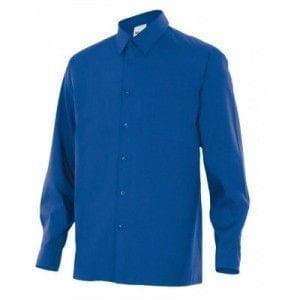 Camisa de Manga Larga de Velilla Serie 529 AZULINA