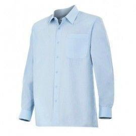 Camisa de Manga Larga de Velilla Serie 529 CELESTE