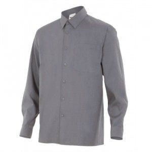 Camisa de Manga Larga de Velilla Serie 529 GRIS