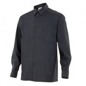 Camisa de Manga Larga de Velilla Serie 529 NEGRO