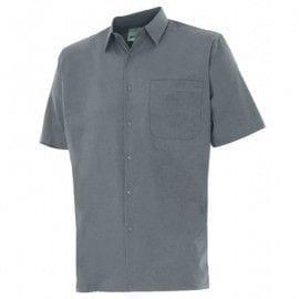 Camisa de Manga Corta de Velilla Serie 531 GRIS