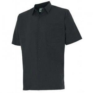 Camisa de Manga Corta de Velilla Serie 531 NEGRO