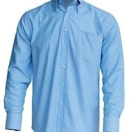 Camisa Casual & Business Shirt modelo Oxford de JHK SHRAOXF AZUL CIELO