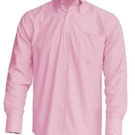 Camisa Casual & Business Shirt modelo Oxford de JHK SHRAOXF ROSA