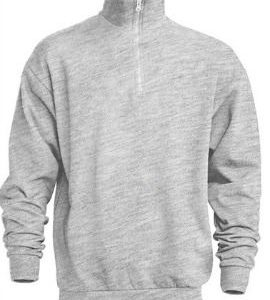 Sudadera Media Cremallera Half Sweatshirt de JHK SWRAZIP GRIS