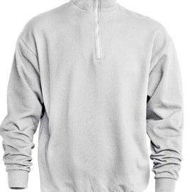 Sudadera Media Cremallera Half Sweatshirt de JHK SWRAZIP BLANCO