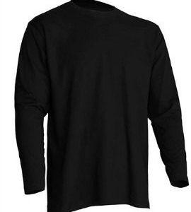 Camiseta manga Larga modelo Regular T-Shirt de JHK TSRA150LS NEGRO