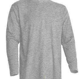 Camiseta manga Larga modelo Regular T-Shirt de JHK TSRA150LS GRIS