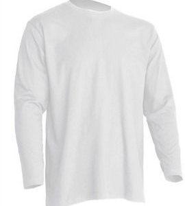 Camiseta manga Larga modelo Regular T-Shirt de JHK TSRA150LS BLANCO