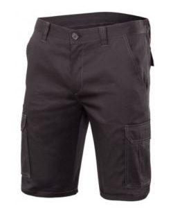 bermuda strech negro velilla – ropa de trabajo