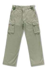 Pantalon Multibolsillos Elastico Tallas Grandes