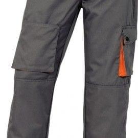 Pantalón Multibolsillos MACH 2 de Deltaplus M2PAN GRIS/NARANJA