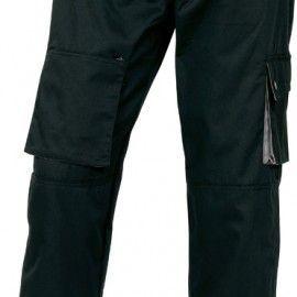Pantalón Multibolsillos MACH 2 de Deltaplus M2PAN NEGRO