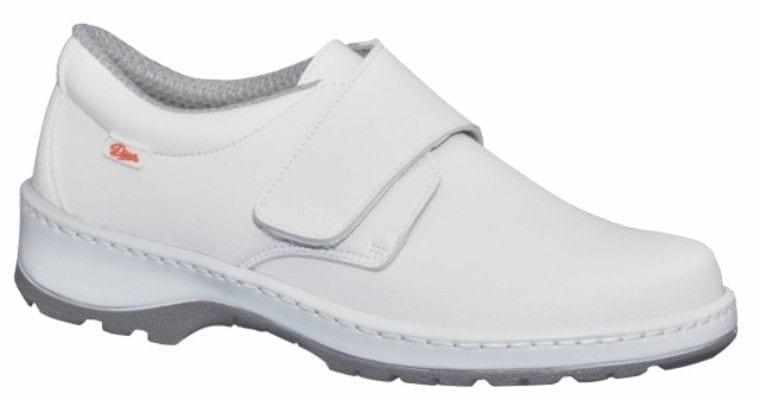 Zapato de trabajo liso con velcro modelo milanscl de dian - Zapatos de cocina antideslizantes ...
